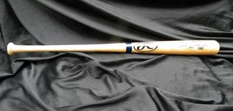 Sammy Sosa Cubs Baseball Bat autographed in Camp Lejeune, North Carolina