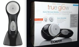 New! Conair True Glow Sonic Skincare Solution Brush SFBM in Orland Park, Illinois