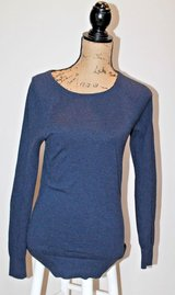 Ann Taylor LOFT Blue Lightweight Sweater, Longer Length, X-Small in Shorewood, Illinois
