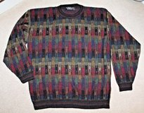 Protege Collection Multi-Colored Crewneck Sweater, Large in St. Charles, Illinois