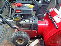 craftsman 22in. two stage snow thrower - electric or pull start Engine in DeKalb, Illinois