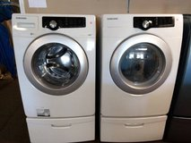 Samsung washer and dryer set in Hinesville, Georgia