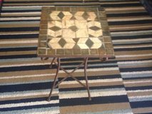 Wrought Iron Stone top Table in Dover, Tennessee