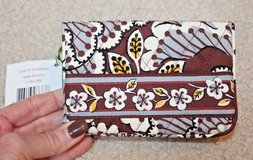 NWT - Vera Bradley One for the Money Bifold Wallet, Slate Blooms, MSRP $26 in Oswego, Illinois