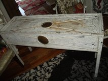 METAL FOYER TABLE/ SOFA TABLE(please read below) in Orland Park, Illinois