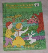 Vintage 1978 Hansel and Gretel w Benjy and Bubbles HardCover Book Weekly Reader in Yorkville, Illinois