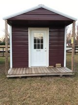 OFFICE 10x16 Porched Utility in Warner Robins, Georgia