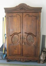 Solid Pine Wood Armoire - 2nd Closet in Joliet, Illinois