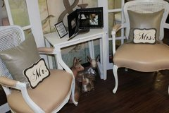2 Blush Vintage chairs in Naperville, Illinois