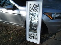 BEVELED MIRROR WHITE FRAME MINT in Orland Park, Illinois