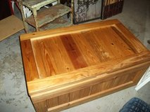 ALL WOOD MINT TOY CHEST STORAGE CHEST in Orland Park, Illinois