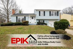 Single Family Home in Columbia with great updates! in Fort Meade, Maryland