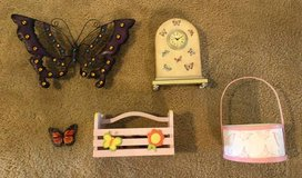 Assorted Butterfly Decorations, pink in Kingwood, Texas