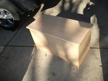 TOY BOX WITH LID REASONABLE VERY CLEAN in Tinley Park, Illinois
