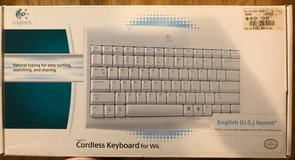 Wii wireless keyboard in Naperville, Illinois