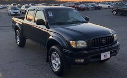 Black 2004 Toyota Tacoma PreRunner Double Cab V6 Automatic 2WD SR5 A/C in Camp Lejeune, North Carolina