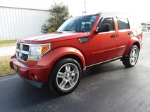 Orange 08 Dodge Nitro SUV, V6 Automatic, Sunroof, Leather, Loaded, 4x4 in Cherry Point, North Carolina