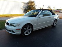 White w/Black Top BMW 325Ci Convertible, Inline 6 Automatic 89k Miles! in Camp Lejeune, North Carolina