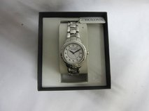 Bulova Women's 96R174 Diamond-Set Case Watch in Silver Tone in Chicago, Illinois