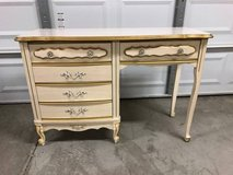 Vintage 2 Piece French Priovincial Desk and Nightstand Set in Fairfield, California