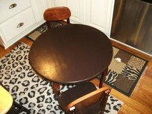 KIDSKRAFT TABLE AND CHAIR SET ALL WOOD in Tinley Park, Illinois