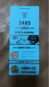 Bears vs Packers North Garage Parking Pass in Chicago, Illinois