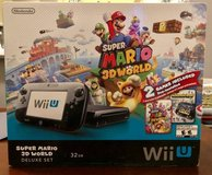Wii U Deluxe Set and Wii Fit U Board - NEW in Plainfield, Illinois