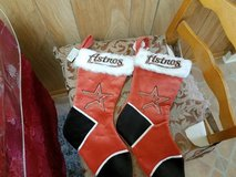 2 HOUSTON ASTROS Christmas Stockings! Authentic MLB with Original Tags! Set of 2 in Excellent Co... in Bellaire, Texas