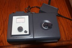 respironics  cpap system one with humidifier for parts only as is in Spring, Texas