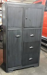 1940's Solid Wood Wardrobe Dresser in Tomball, Texas
