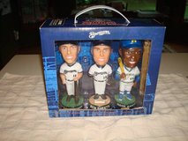 2002 MILWAUKEE BREWERS PEPSI 3-PACK SET AARON, SHEETS, SEXSON BOBBLE in Brookfield, Wisconsin