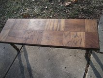 ALL WOOD BENCH OR COFFEE TABLE in Naperville, Illinois