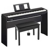 Yamaha P-45 88-Key Weighted Action Digital Piano Black with Wood Stand in Lockport, Illinois