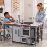 Baby boy girl Chef's Cook N Create Island Play Kitchen with EZ Kraft Assembly. in New Lenox, Illinois