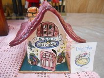 2001 Blue Sky Clayworks by Heather Goldminc House! WELCOME Comes in Orig Box! ! in Spring, Texas