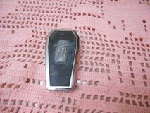 Collectible Butane Lighter Coffin Gothic Style!  Still Works! in Spring, Texas