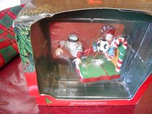 CHRISTMAS CHARMER ORNAMENT- SANTA CLAUS PLAYING SOCCER Used and in original package. in Spring, Texas