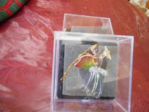 Hand Spun Glass Angel Ornament in Acrylic case! in Spring, Texas