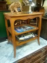 Wood Tiered Table in Naperville, Illinois