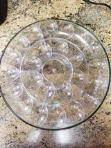 Brand new 3 piece appetizer/ Egg tray in Temecula, California
