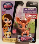 NEW #3805 Littlest Pet Shop Singles Combo PET PAWSABILITIES Gracie Plainville Gazelle Deer in Joliet, Illinois