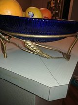 Cobalt Bowl with Ornate stand in Phoenix, Arizona