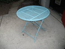 ALL METAL PATIO TABLE in Lockport, Illinois