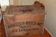 Vintage Budweiser Beer Anheuser-Busch Inc. Centennial Wood Box 1976 in Spring, Texas
