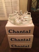 """New in Box Chantal 8"""" Large Glass Warming Stand in Kingwood, Texas"""