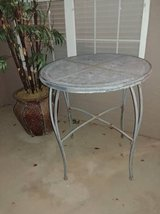 Tall Wrought Iron Table in Phoenix, Arizona