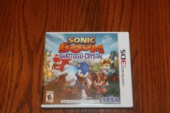 3DS Sonic Boom Shattered Chrystal Complete in Spring, Texas