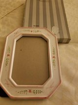 Heavy ceramic frame adorned with hearts in Camp Pendleton, California
