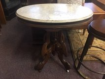 Marble Top Occasional Table in Bartlett, Illinois
