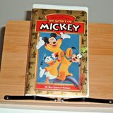 Vintage 1998  Walt Disney The Spirit of Mickey Most Treasured Moments Clam Shell VHS in Morris, Illinois